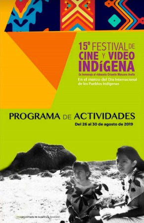 Invitan al Festival de Cine y Video Indígena