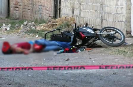 Motociclista es asesinado a balazos, en Zamora. Noticias en tiempo real