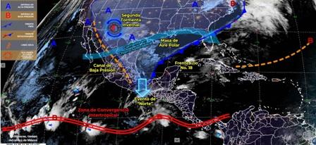 Continuarán las bajas temperaturas en gran parte de Michoacán. Noticias en tiempo real