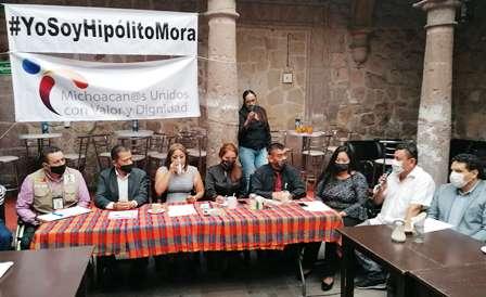 Organizaciones civiles piden a Hipólito Mora se lance para gobernador. Noticias en tiempo real