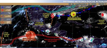 Se esperan chubascos con lluvias puntuales para Michoacán. Noticias en tiempo real