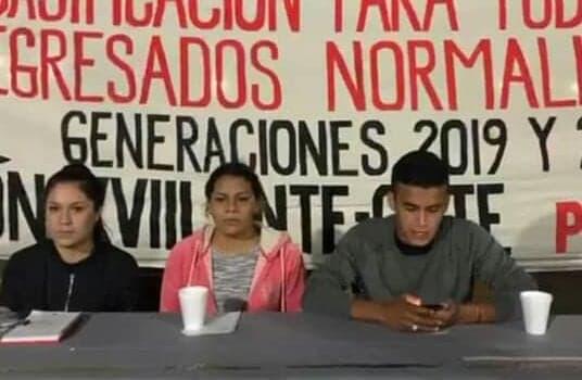 Piden normalistas a CEDH vigile la garantía a sus derechos humanos en bloqueo a vías del tren. Noticias en tiempo real